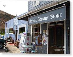 Bodega Country Store . Bodega Bay . Town Of Bodega . California . 7d12452 Acrylic Print by Wingsdomain Art and Photography
