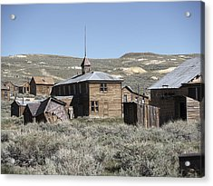 Bodie Cabins 2 Acrylic Print by Philip Tolok