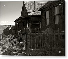 Bodie Cabins 3 Acrylic Print by Philip Tolok