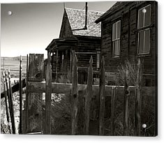 Bodie Cabins 4 Acrylic Print by Philip Tolok