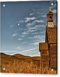Bodie California Church Acrylic Print by Al Reiner
