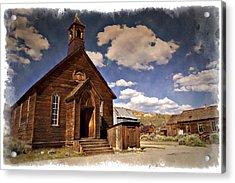 Bodie Church - Impressions Acrylic Print