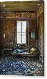 Bodie Ghost Town - Old House 04 Acrylic Print by Gregory Dyer