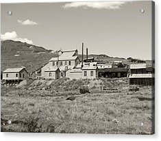 Bodie Ghost Town California Gold Mine Acrylic Print by Philip Tolok