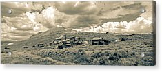 Bodie Ghost Town California Gold Mine Acrylic Print