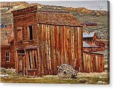 Bodie Ghost Town Acrylic Print by Garry Gay