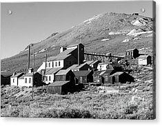 Acrylic Print featuring the photograph Bodie Ghost Town by Jim McCain