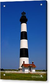 Bodie Island Lighthouse Outer Banks Nc Acrylic Print by Susanne Van Hulst