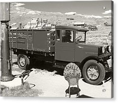 Bodie Shell Gasoline 2 Acrylic Print by Philip Tolok