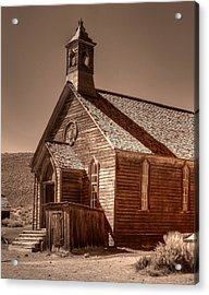 Bodie State Historic Park California Church Acrylic Print
