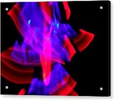 Body Movin' 8 Acrylic Print by Cyryn Fyrcyd