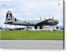 Boeing B-29 Superfortress Acrylic Print by Dan Myers