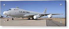 Boeing Yal-1a Airborne Laser Testbed Davis-monthan Afb April 15 2012 Acrylic Print by Brian Lockett