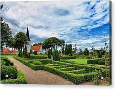 Bogense Church Acrylic Print