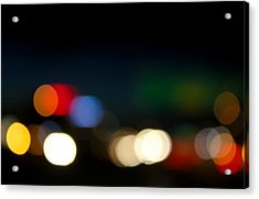 Bokeh Light Acrylic Print