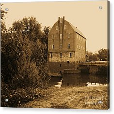 Bollinger Mill Acrylic Print by Julie Clements