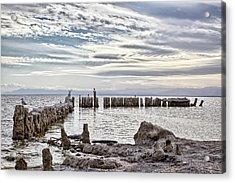 Bombay Beach Salton Sea 2 Acrylic Print
