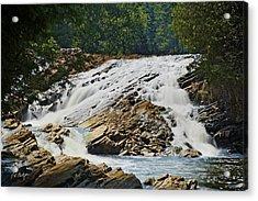 Bonnechere Falls Acrylic Print by Phill Doherty
