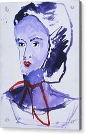 Bonnet Acrylic Print by Iris Gill