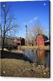 Bonneyville Mill Acrylic Print