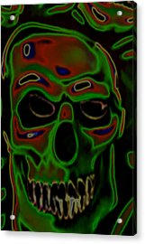 boo Acrylic Print by Barry Shaffer