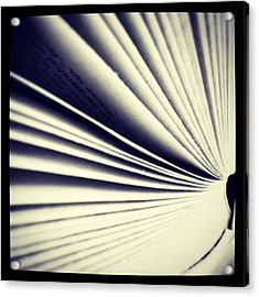 #book #reading #pages #photooftheday Acrylic Print
