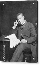 Booker T. Washington 1856-1915, African Acrylic Print by Everett