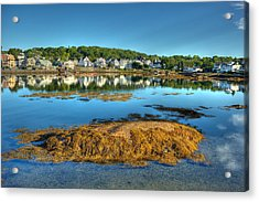 Boothbay Harbor Acrylic Print by Ron St Jean