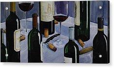 Bordeaux Acrylic Print by Geoff Powell
