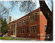 Border Star Elementary School Kansas City Missouri Acrylic Print