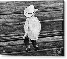 Born To Be A Cowboy Acrylic Print