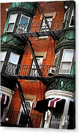 Boston House Fragment Acrylic Print