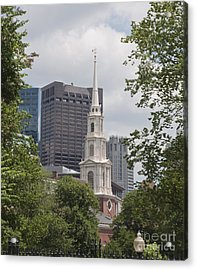 Boston Old And New Acrylic Print
