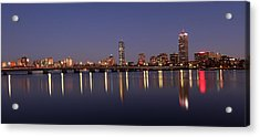 Boston Panoramic View Acrylic Print by Juergen Roth