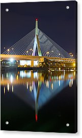 Boston Reflections Acrylic Print by Shane Psaltis