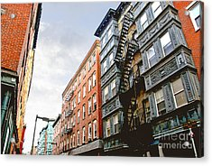 Boston Street Acrylic Print