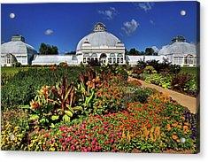 Acrylic Print featuring the photograph Botanical Botanical Gardens by Don Nieman