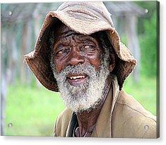 Botswanan Man Acrylic Print