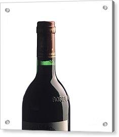 Bottle Of French Wine Acrylic Print by Bernard Jaubert