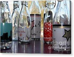 Bottles Acrylic Print by Tanja Hymel