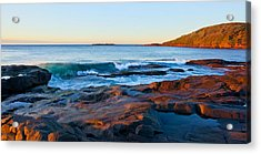 Boulder Bay Sunrise Acrylic Print by Paul Svensen