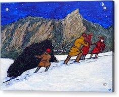 Boulder Christmas Acrylic Print
