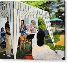 Boulder Lovers Of Jazz Summer Party Acrylic Print