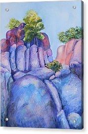 Boulders Acrylic Print