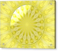 Bouquet Of Roses Kaleidoscope 7 Acrylic Print by Rose Santuci-Sofranko