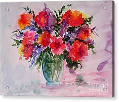 Bouquet Of Wishes Acrylic Print by Kimberlee Weisker