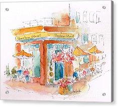 Bourbon Street Restaurant In Bend Acrylic Print by Pat Katz
