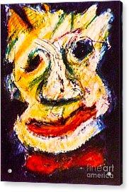 Bow-tie Man Acrylic Print by Bill Davis