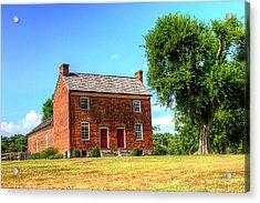Bowen Plantation House 002 Acrylic Print by Barry Jones