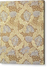 Bower Wallpaper Design Acrylic Print by William Morris